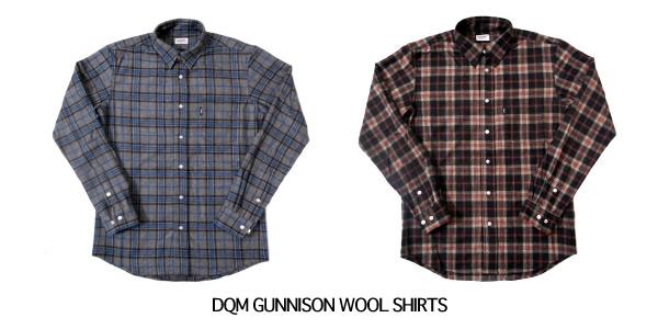 DQM GUNNISON WOOL SHIRTS