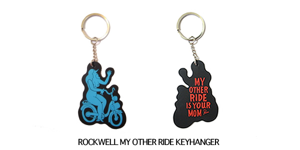 ROCKWELL MY OTHER RIDE KEYHANGER