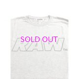RAW HANDWRITING LOGO TEE