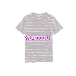 画像1: J.CREW / Tall piqué T-shirt in stripe