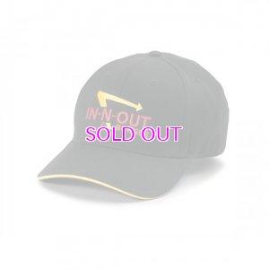 画像1: IN-N-OUT-BURGER / BLACK LOGO HAT