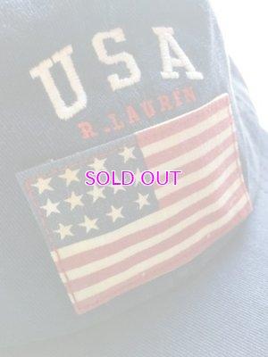 画像2: POLO RALPH LAUREN USA FLAG CAP