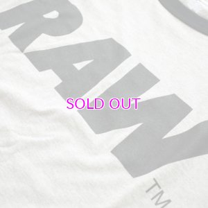 画像2: RAW BIG LOGO 5.2 OZ. RAGLAN T-SHIRT