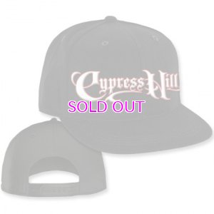 "画像3: Cypress Hill ""Script Logo"" Black Snap Back Baseball hat"