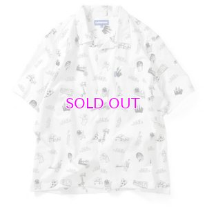 画像1: Lafayette ラファイエット OPEN COLLAR NY SOUVENIR SHIRT