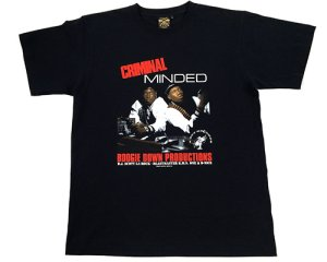 "画像1: B-Boy Records x BBP ""Criminal Minded"" Tee"