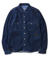 Lafayette CLASSIC WASHED DENIM FATIGUE SHIRT