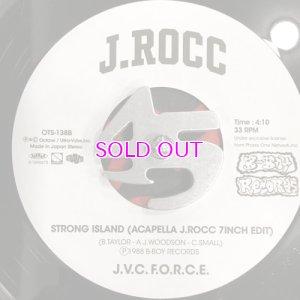 画像3: J.V.C. F.O.R.C.E. (EDIT BY J.ROCC) / STRONG ISLAND (BLUE MIX J.ROCC 7INCH EDIT) / STRONG ISLAND (ACAPELLA J.ROCC 7INCH EDIT)
