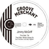 JIMMY MCGRIFF / Tiki / What's Going On 7inch