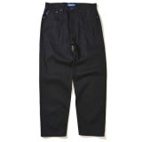 Lafayette 5 POCKET BLACK DENIM PANTS - BAGGIE FIT