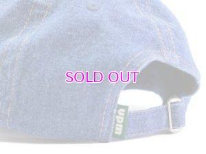 画像5: upriseMARKET Juke box Label Logo Denim Baseball Hat