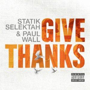 """画像1: STATIK SELEKTAH & PAUL WALL / GIVE THANKS """"LP"""""""