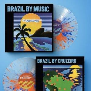画像2: MARCOS VALLE & AZYMUTH / FLY CRUZEIRO - DISKUNION EXCLUSIVE COLOR (CLEAR VINYL WITH BLUE & ORANGE SPLATTER)