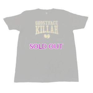 画像1: Ghostface Killah Gold Logo Tshirt