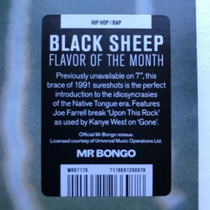 画像2: BLACK SHEEP /FLAVOR OF THE MONTH 7""