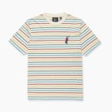 by parra Staring Striped Tee