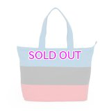 BY PARRA PANELLED SUMMER TOTE BAG