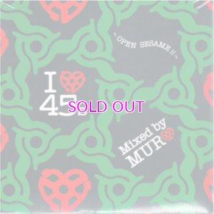 画像1: MURO MIX CD /  I LOVE 45'S - OPEN SESAME !!