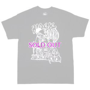 画像1: DUCK DOWN BLACK MOON ANIMATED LOGO TEE T-SHIRT