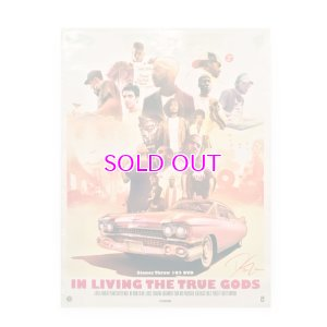 画像1: STONES THROW 102 IN LIVING THE TRUE GOD POSTER