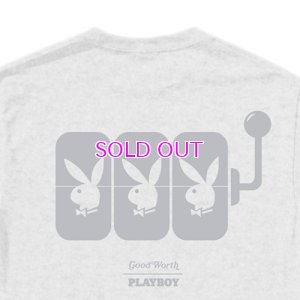 画像2: GOOD WORTH & CO × PLAYBOY SLOT MACHINE BUNNY TEE