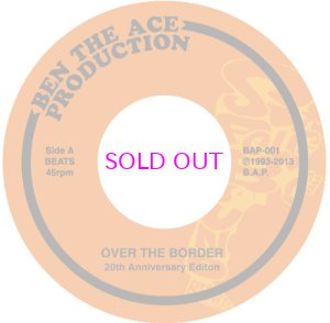 画像1: YOU THE ROCK AND DJ BEN / OVER THE BORDER 20TH ANNIVERSARY EDITION 45""