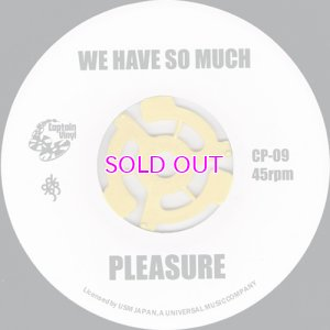 画像1: PLEASURE WE HAVE SO MUCH / THE BLACKBYRDS BLACKBYRD'S THEME / 45""
