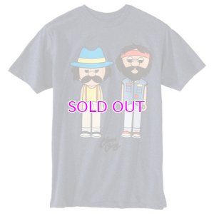 画像1: CHEECH AND CHONG LITTLE CARTOON CHARACTER T-SHIRT