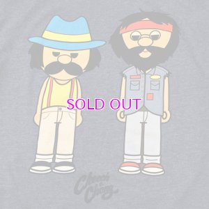 画像2: CHEECH AND CHONG LITTLE CARTOON CHARACTER T-SHIRT