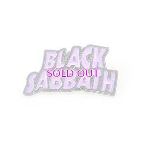 画像1: BLACK SABBATH LOGO PINS