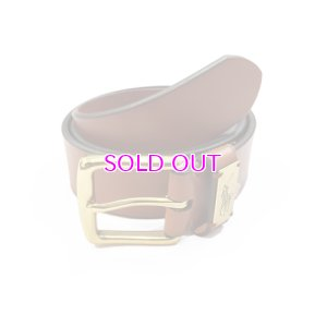 画像1: POLO RALPH LAUREN LEATHER BELT