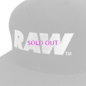 画像2: RAW LOGO SNAPBACK CAP