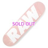RAW LOGO SKATEBOARD DECK