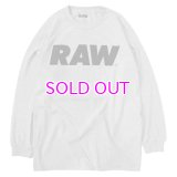 RAW LOGO PRIMARY LONG SLEEVE TEE