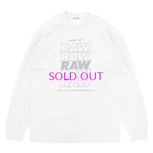 画像1: RAW THANKS L/S TEE