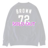 JAMES BROWN x BBP BROWN 72 CREWNECK SWEATSHIRT