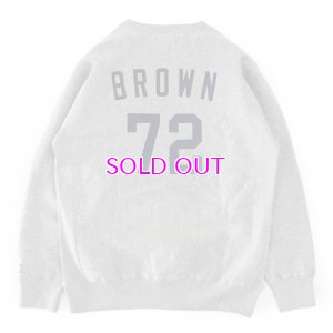 画像4: JAMES BROWN x BBP BROWN 72 CREWNECK SWEATSHIRT