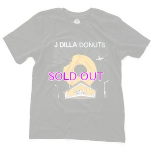 画像1: STONES THROW J DILLA DONUTS T-SHIRT