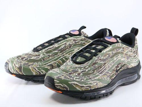d0fe295de2 Men's Shoes Nike Air Max 97 Premium QS AJ2614-205 USA Country Camo Medium Olive  Black Sand ...
