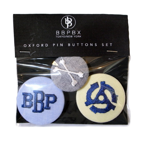 BBP OXFORD PIN BUTTONS SET