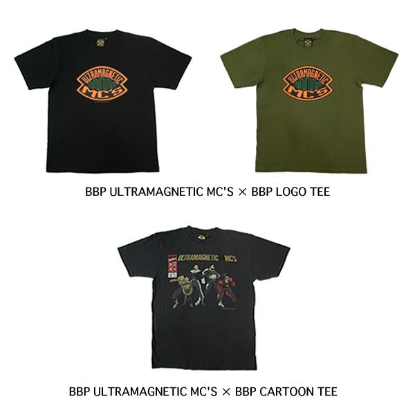 BBP ULTRAMAGNETIC MC′S x BBP LOGO TEE