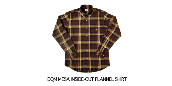 DQM MESA INSIDE-OUT FLANNEL SHIRT