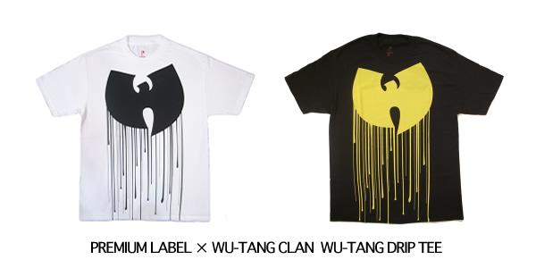 PREMIUM LABEL × WU-TANG CLAN WU-TANG DRIP TEE