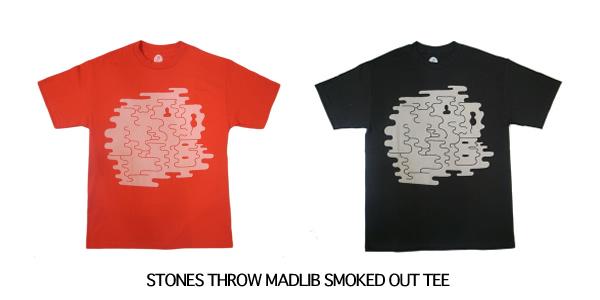 STONES THROW MADLIB SMOKED OUT TEE